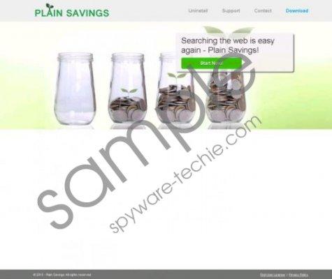 Plain Savings Removal Guide