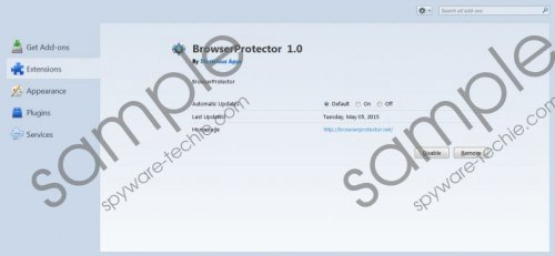 BrowserProtector Removal Guide
