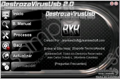 DestrozaVirusUsb Removal Guide