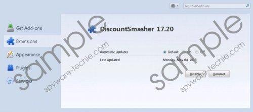 DiscountSmasher Removal Giude