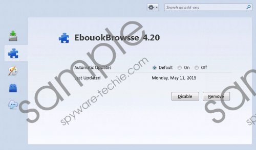 EbookBrowse Removal Guide