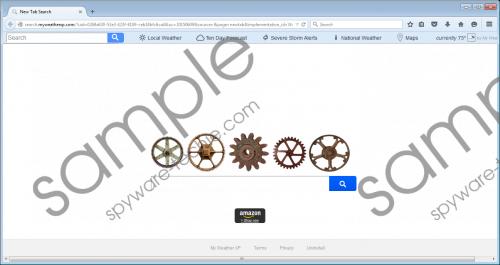 Search.myweatherxp.com Removal Guide