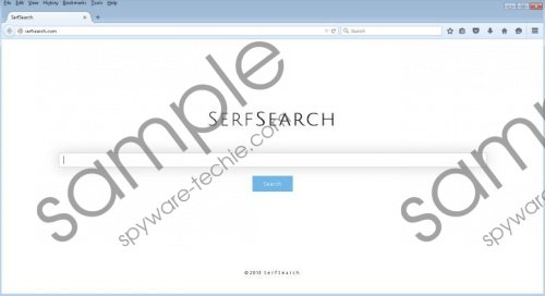 SerfSearch.com Removal Guide