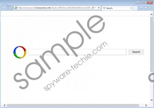 Websearch.hotsearches.info Removal Guide