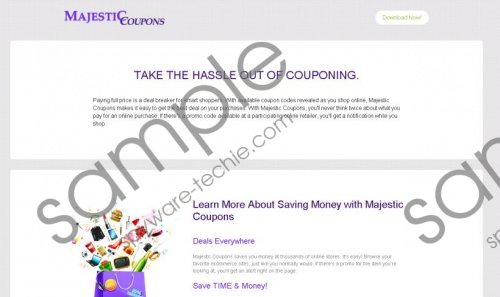 Majestic Coupons Removal Guide