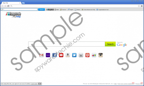 HomeworkSimplified Toolbar Removal Guide
