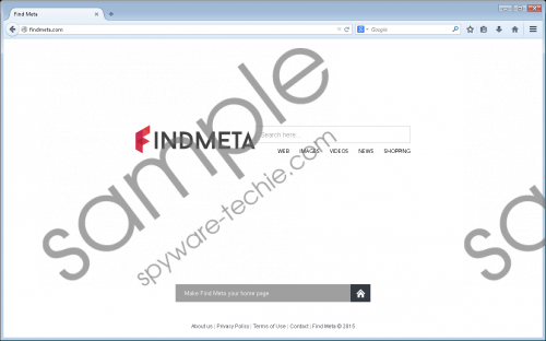 Findmeta.com Removal Guide