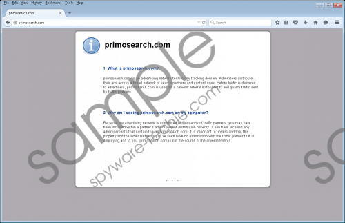 Primosearch.com Removal Guide