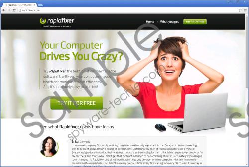 RapidFixer Removal Guide