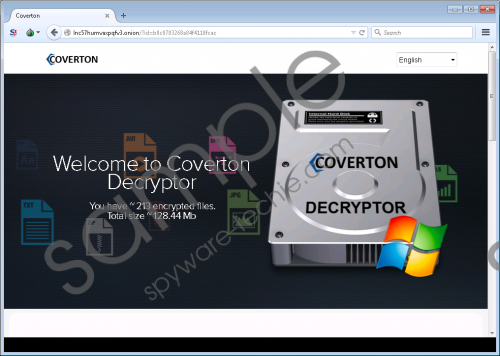 Coverton Ransomware Removal Guide