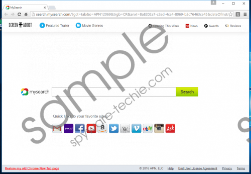 Screen Addict Removal Guide