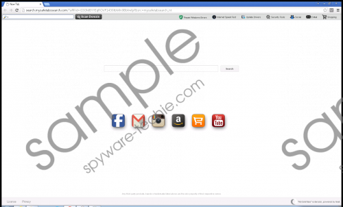 Myhomepage-7.info Removal Guide