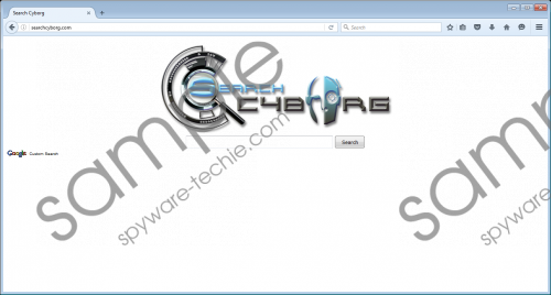 Searchcyborg.com Removal Guide