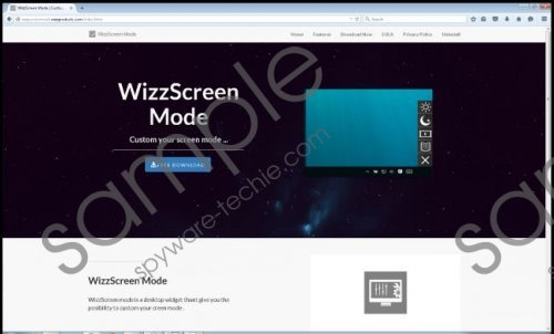 Wizzscreenmode Removal Guide