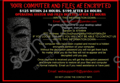 Anonpop Ransomware Removal Guide