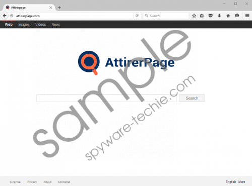 AttirerPage.com Removal Guide