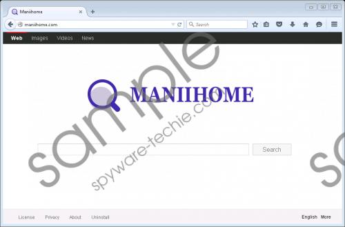 Maniihome.com Removal Guide