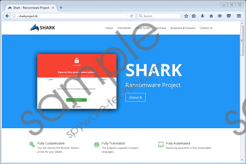 Shark Ransomware Removal Guide