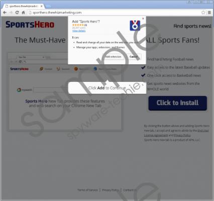 SportsHero Removal Guide