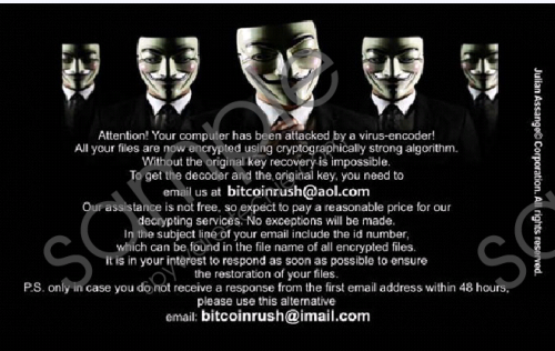 Bitcoinrush@imail.com Ransomware Removal Guide