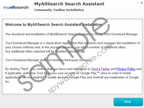 Myallsearch.com Removal Guide