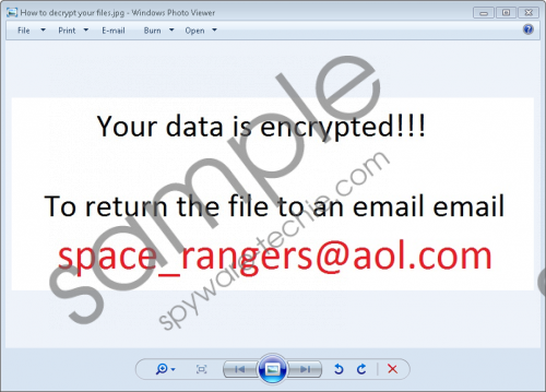 Space_rangers@aol.com Ransomware Removal Guide
