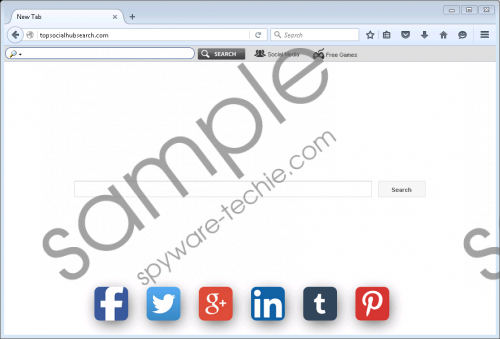Topsocialhubsearch.com Removal Guide