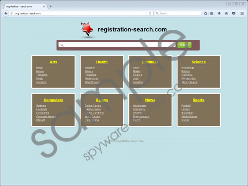Registration-search.com Removal Guide