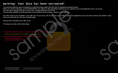 DummyCrypt Ransomware Removal Guide
