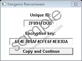 Kangaroo Ransomware Removal Guide