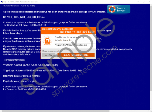 Microsoft Security essentials +1-888-496-5150 Removal Guide