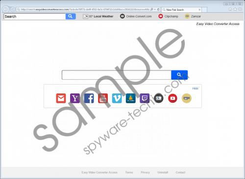 Search.easyvideoconverteraccess.com Removal Guide