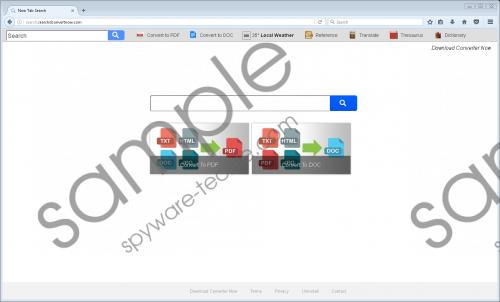 Search.searchdconvertnow.com Removal Guide