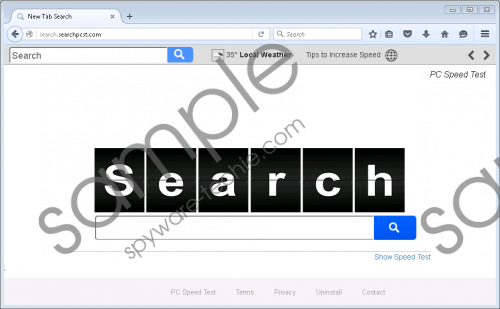 Search.searchpcst.com Removal Guide