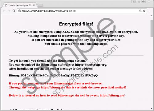 Hakunamatata Ransomware Removal Guide