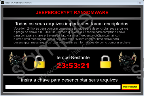 Jeeperscrypt Ransomware Removal Guide