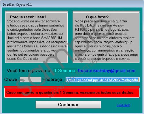 DeadSec-Crypto Ransomware Removal Guide
