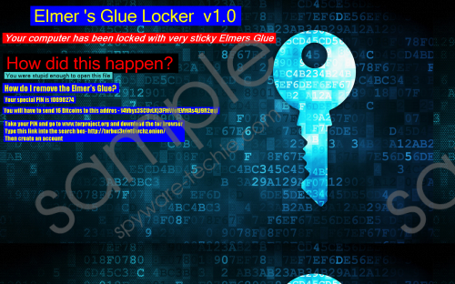 Elmers Glue Locker Ransomware Removal Guide