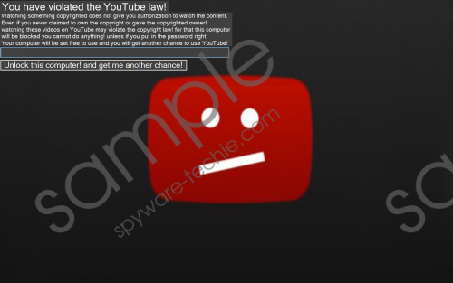 YouTube Ransomware Removal Guide
