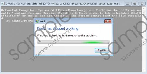 Kuntzware Ransomware Removal Guide