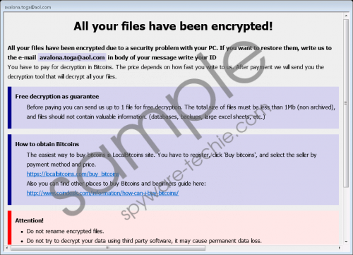 Blocking Ransomware Removal Guide