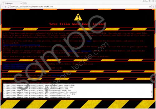 SnakeLocker Ransomware Removal Guide