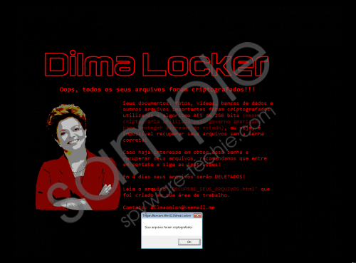 Dilmalocker Ransomware Removal Guide