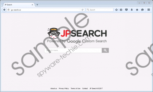 Jp-search.co Removal Guide