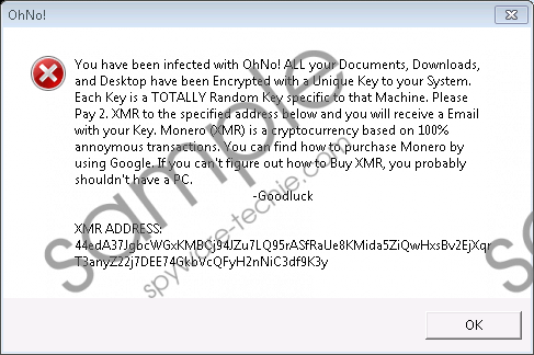 OhNo Ransomware Removal Guide