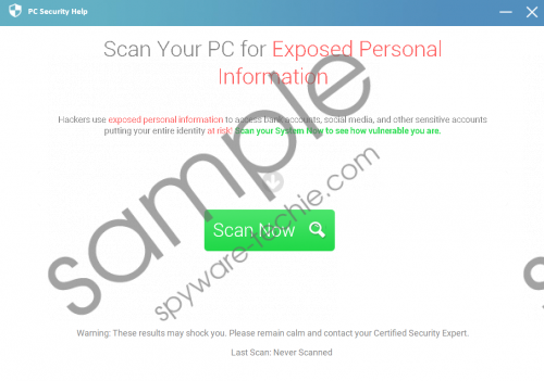 PCPrivacyProtect Removal Guide