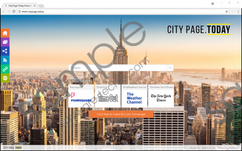 Citypage.today Removal Guide