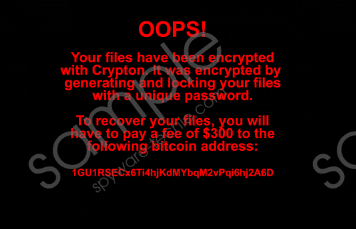 Netcrypton Ransomware Removal Guide