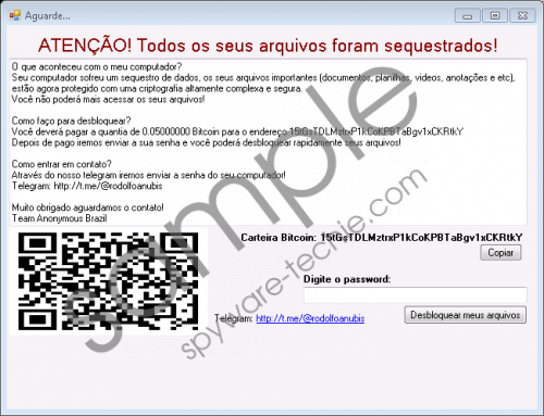 Instalador Ransomware Removal Guide