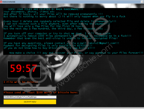 MADA Ransomware Removal Guide